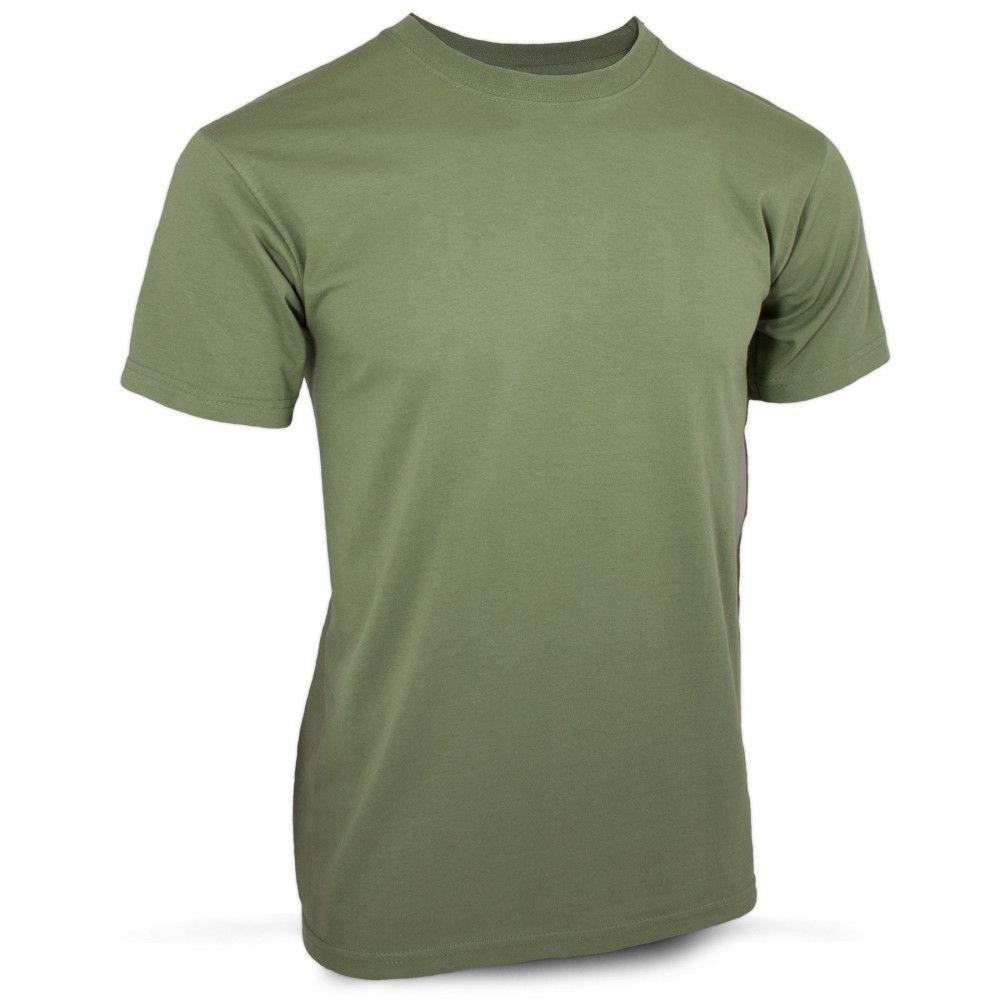 Tee-shirt coton vert armée