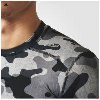 Tee-shirt Adidas Techfit camouflée manches courtes