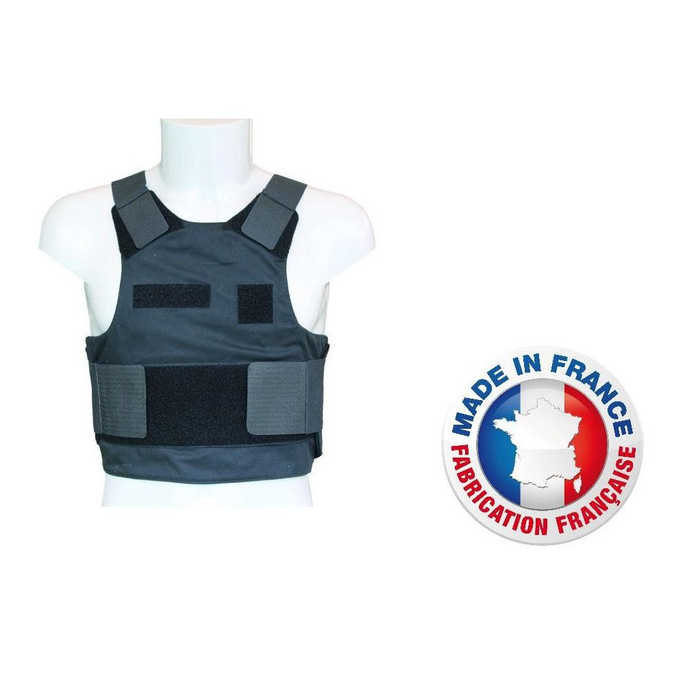 Housse de gpb noir coupe comoditex ou verseidag amg pro for Housse gilet pare balle gendarmerie