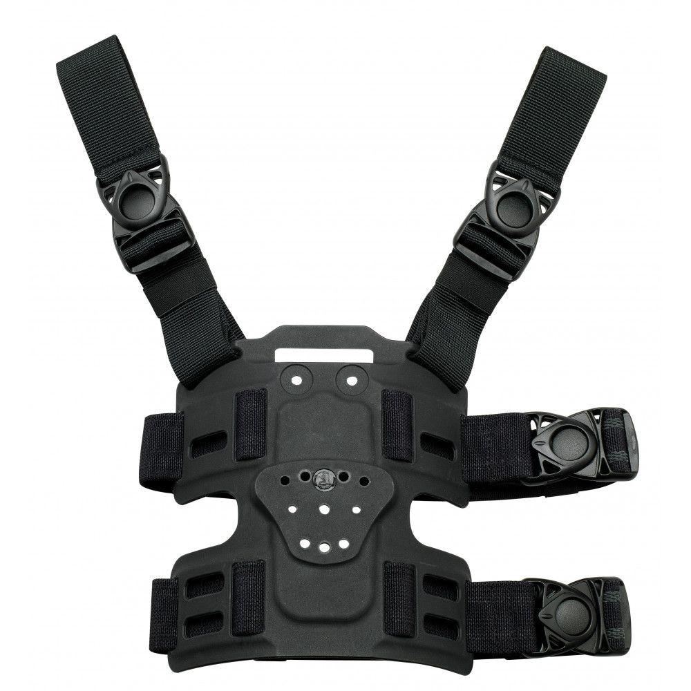Plaque de cuisse Radar double sangle et double boucle détachable compatible Safariland