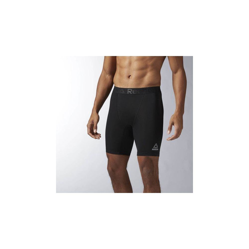 SOUS-SHORT DE COMPRESSION HOMME REEBOK WORKOUT READY NOIR