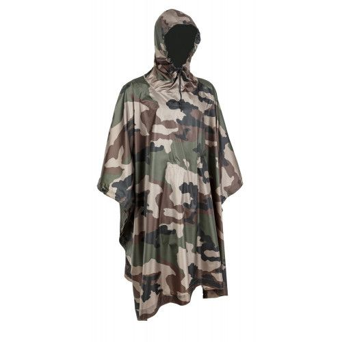 Poncho ultra light Ripstop Cam CE
