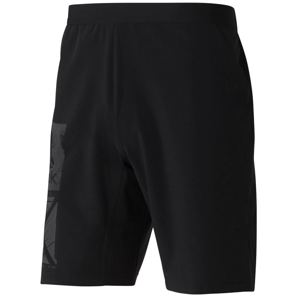 SHORT REEBOK GRAPHIC SPEED SHORT BLACK