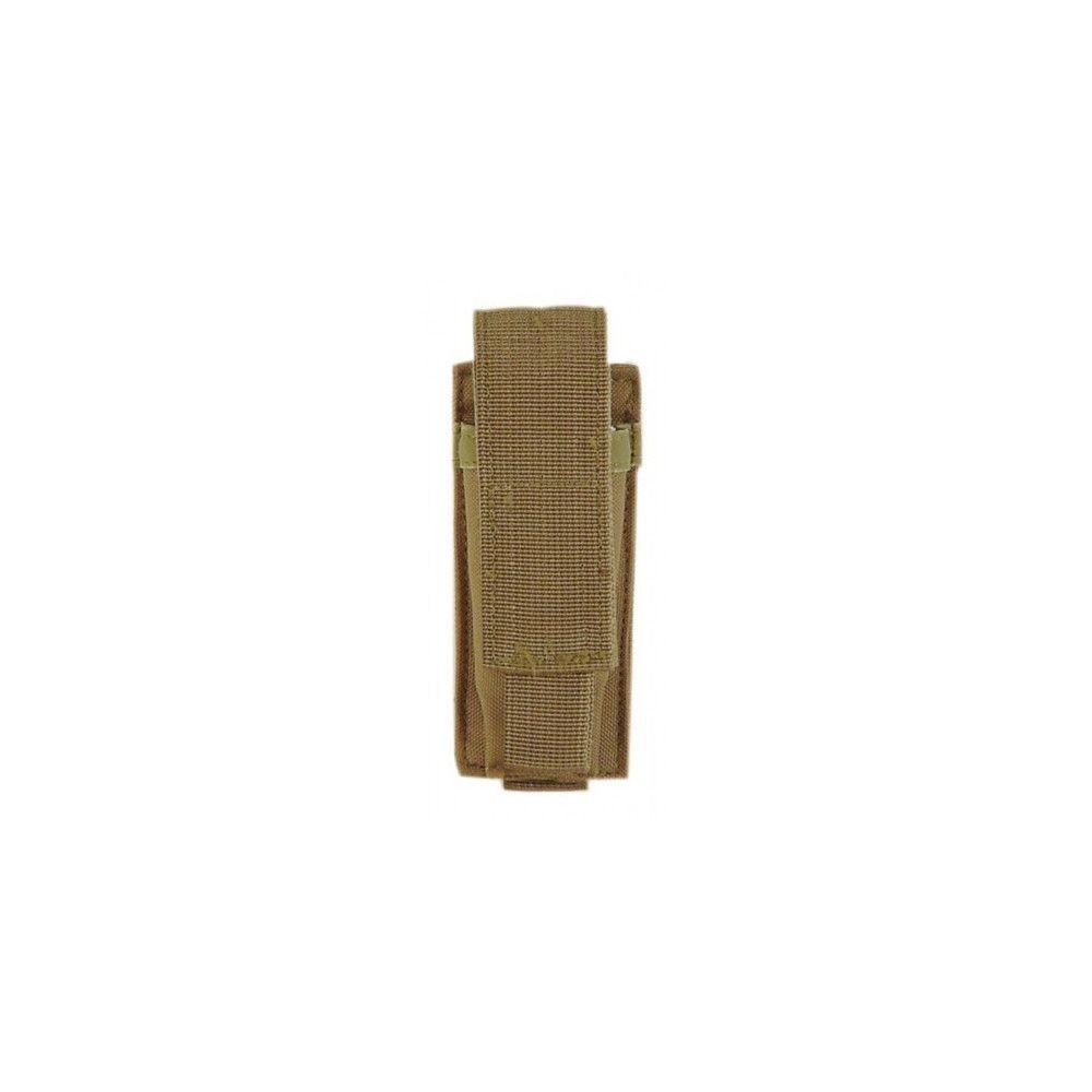 Porte-chargeur simple pour pistolet automatique avec attaches Molle