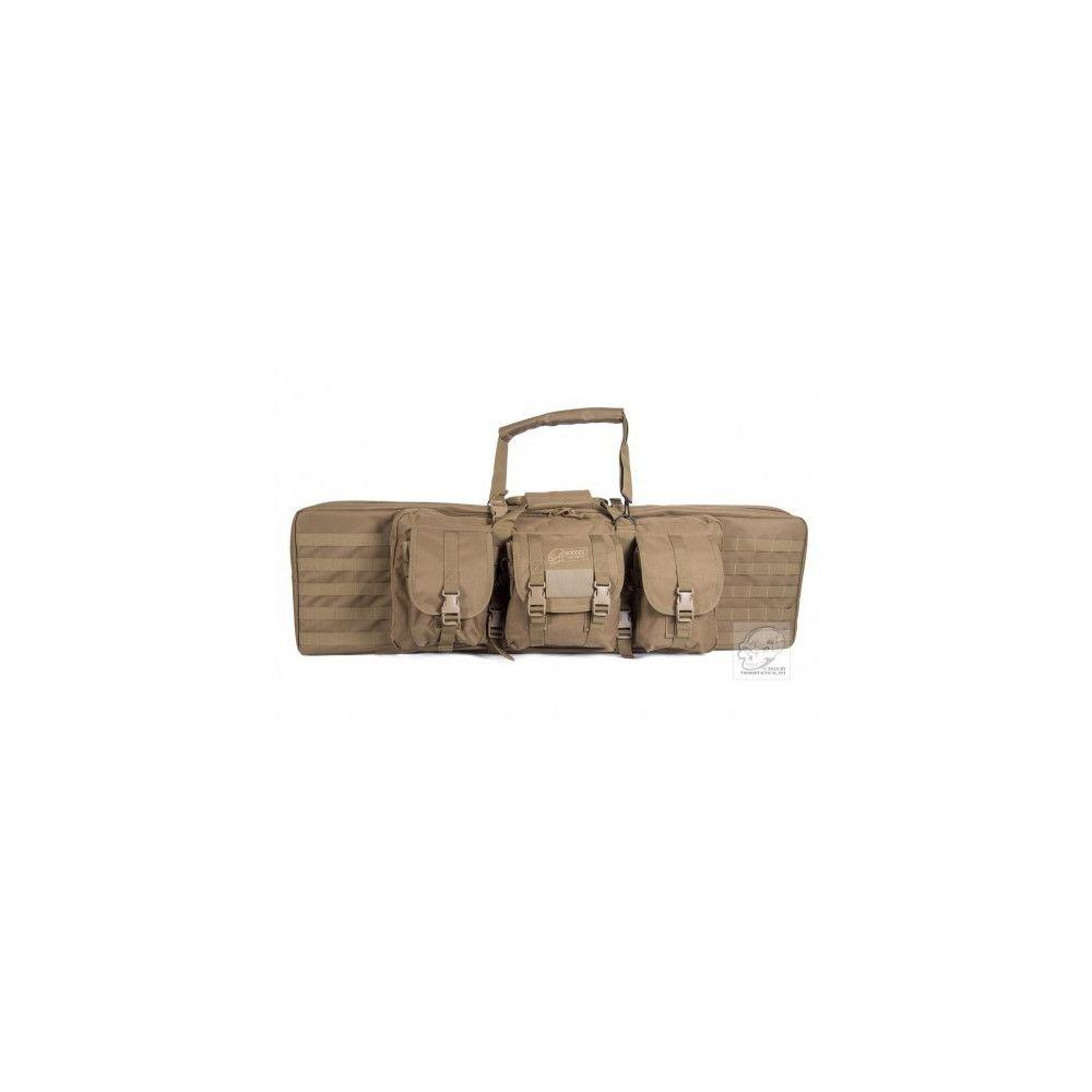 """Housse de transport pour l'emport de 2 armes d'épaule 42"""""""