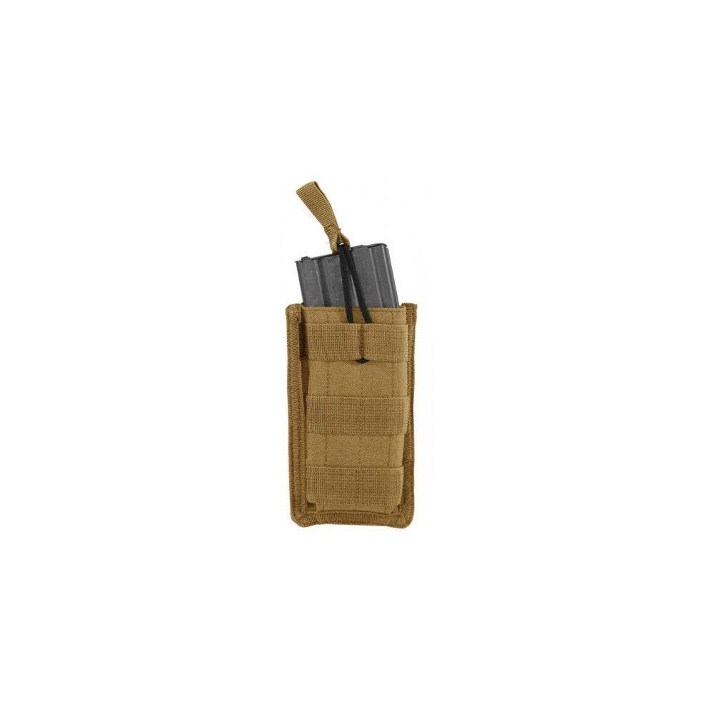 Porte-chargeur simple pour arme d'épaule type M4/5,56mm