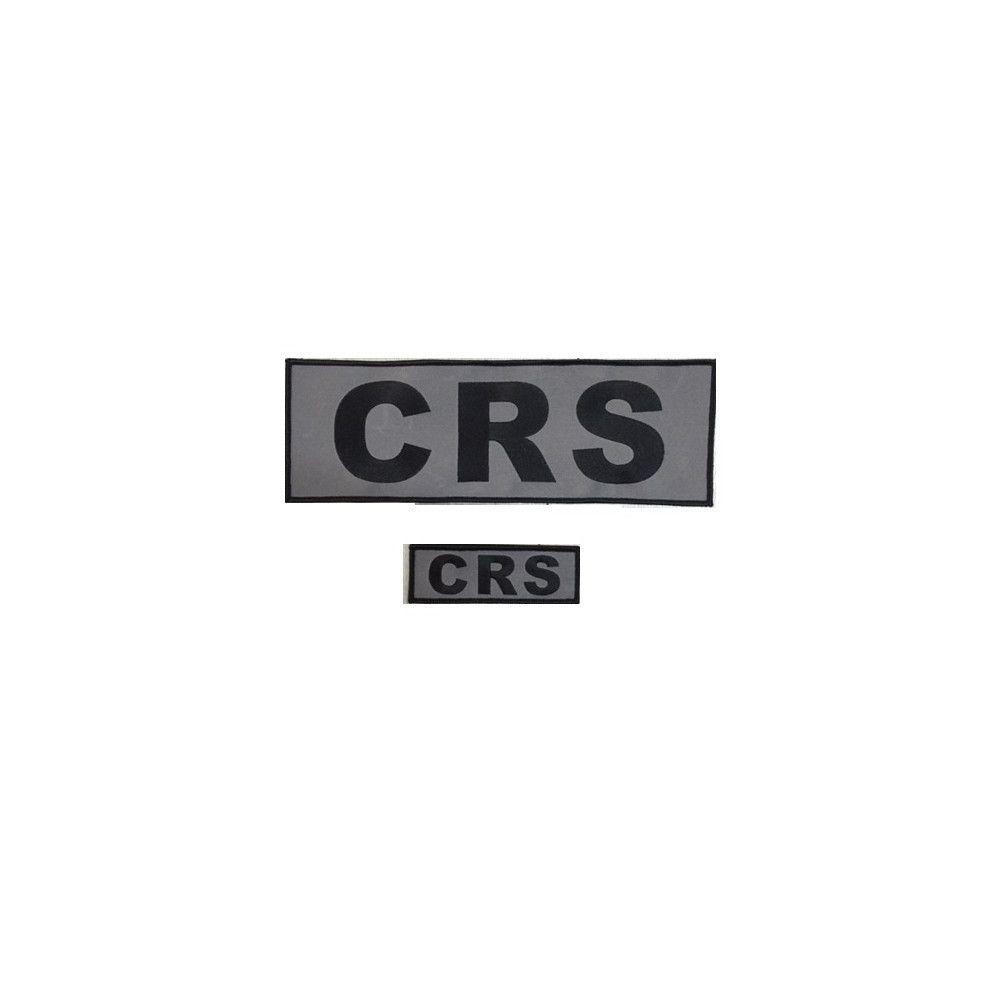Jeu de bandes CRS basse visibilité