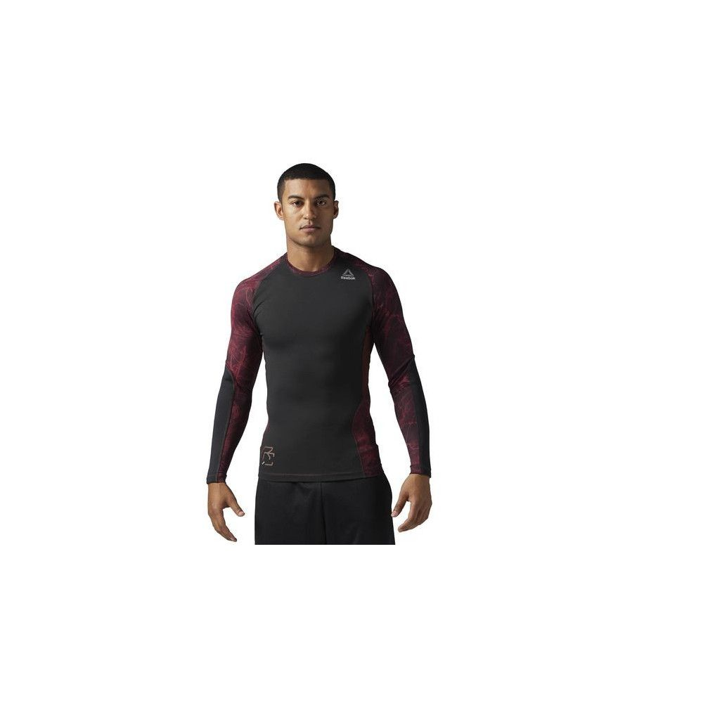T-shirt de compression manches longues Reebok Combat