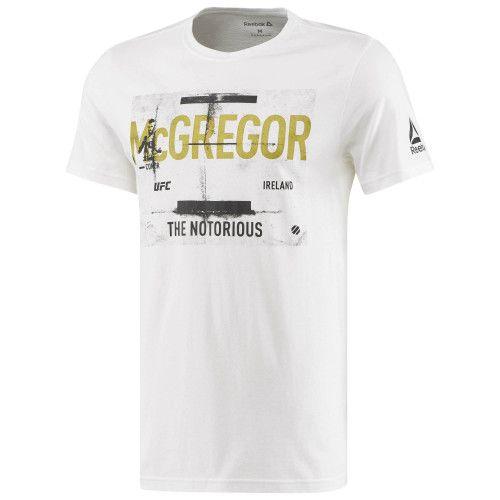 Tee-shirt UFC CONOR MCGREGOR FIGHTER REEBOK