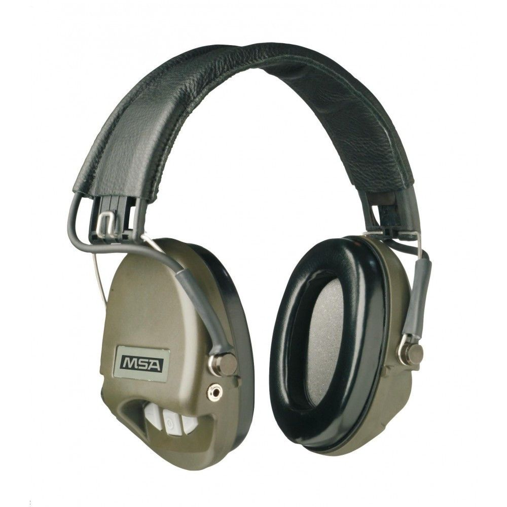 Casque anti-bruit Suprême Basic vert OD MSA
