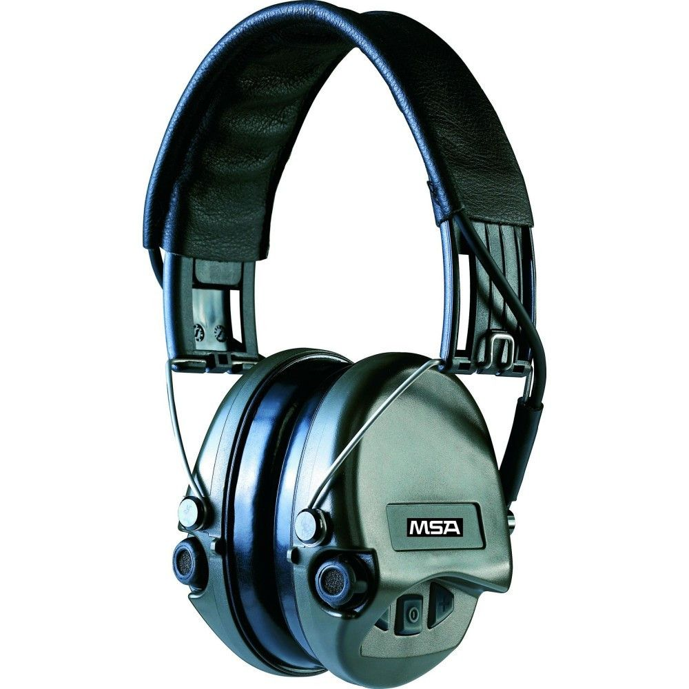 Casque anti-bruit Suprême Pro serre-tête vert OD MSA