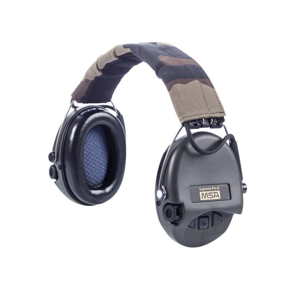 Casque anti-bruit Suprême Pro-X serre-tête MSA