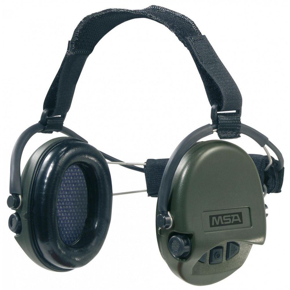 Casque anti-bruit Suprême Pro serre-nuque vert OD MSA
