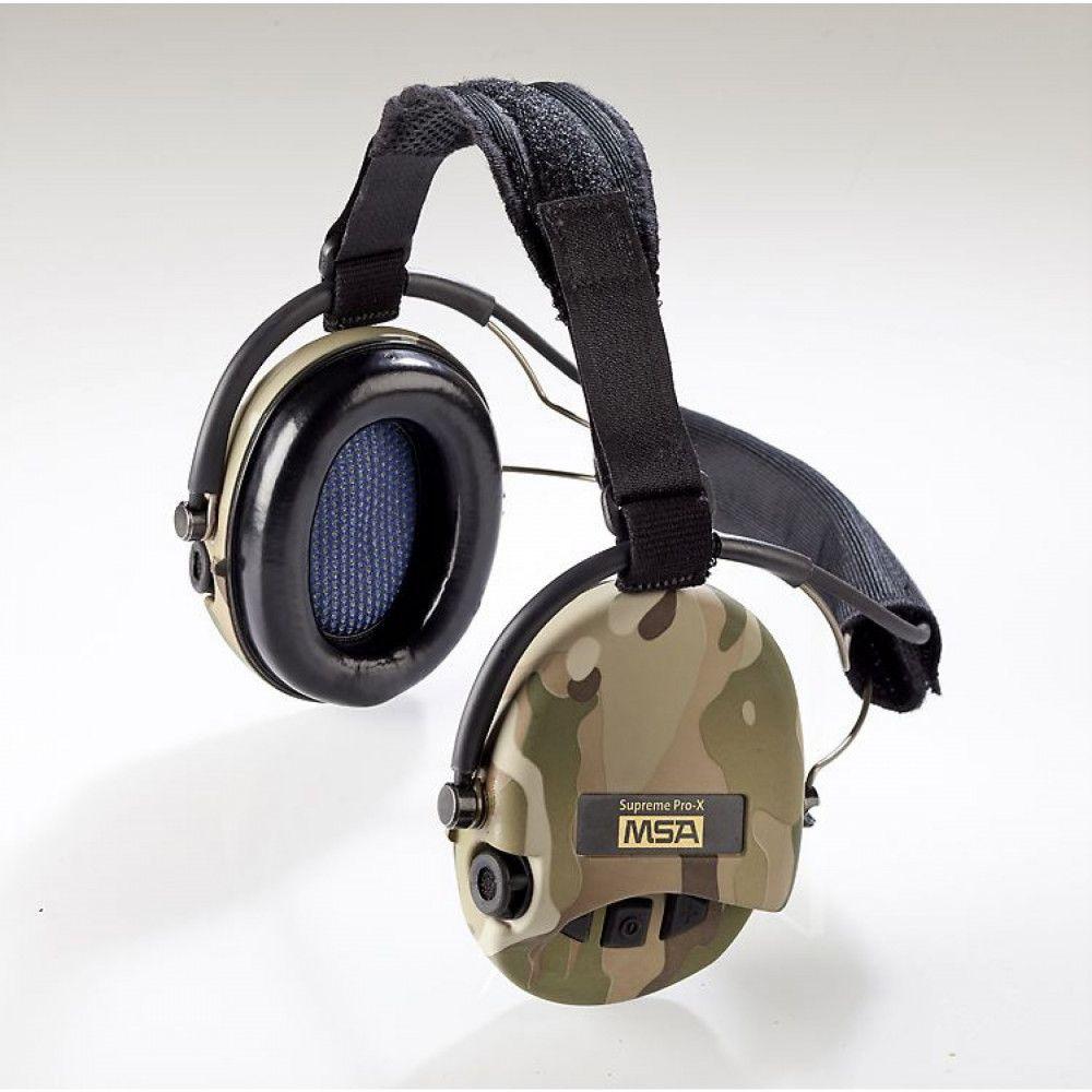 Casque anti-bruit Suprême Pro-X serre-nuque cam ce MSA