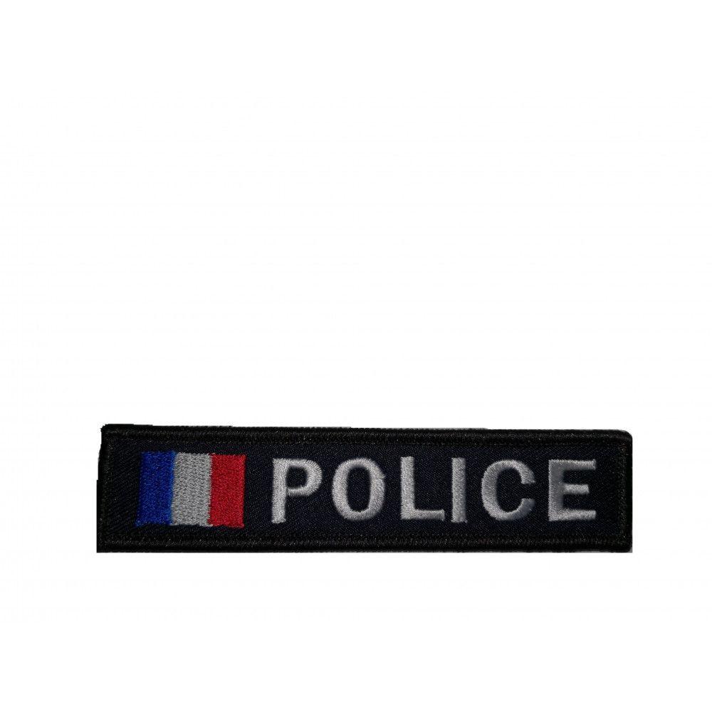 Bande brodé Police France