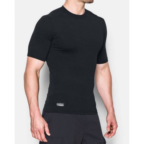 T-Shirt ColdGear® Infrared Tactical Short Sleeve pour homme UNDER ARMOUR