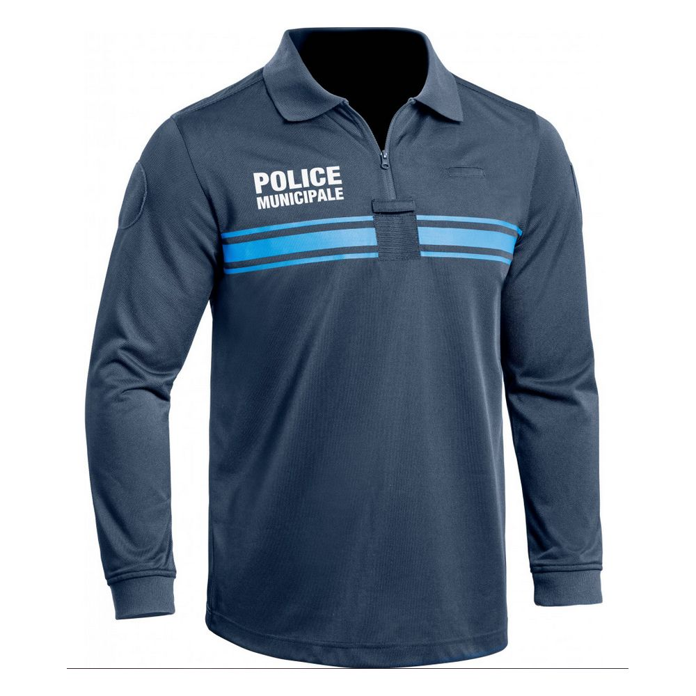 Polo Police Municipale ONE manches longues