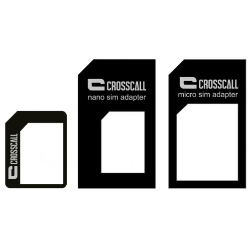 Kit de 3 adaptateurs carte SIM CROSSCALL