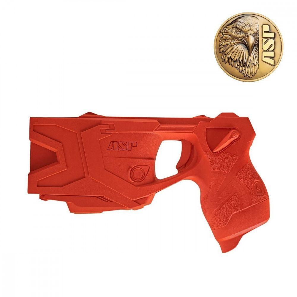 Red gun ASP Taser X2