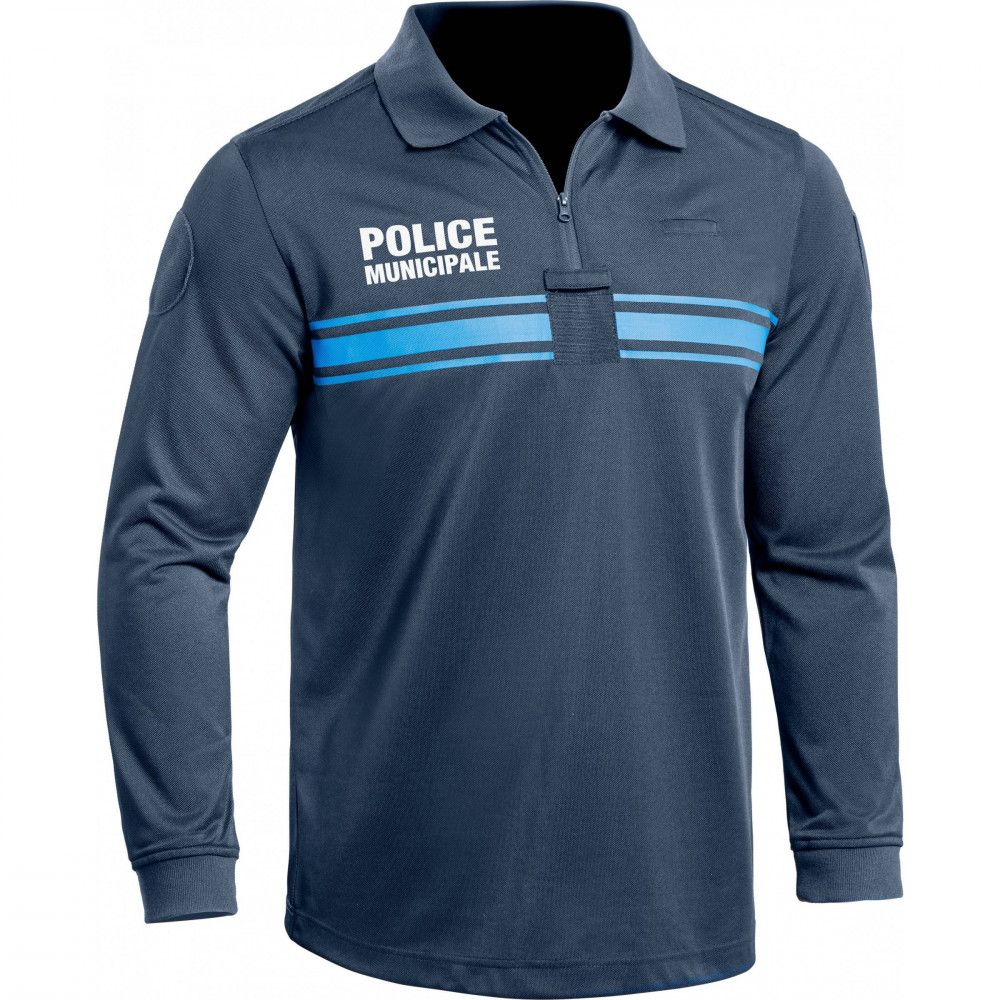 Polo manches longues Police Municipale P.M One