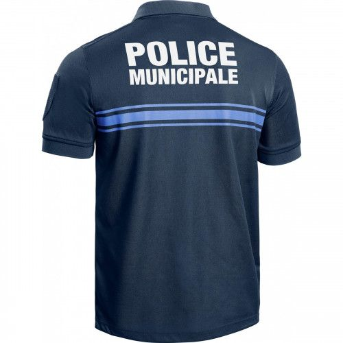 Polo manches courtes Police Municipale P.M One