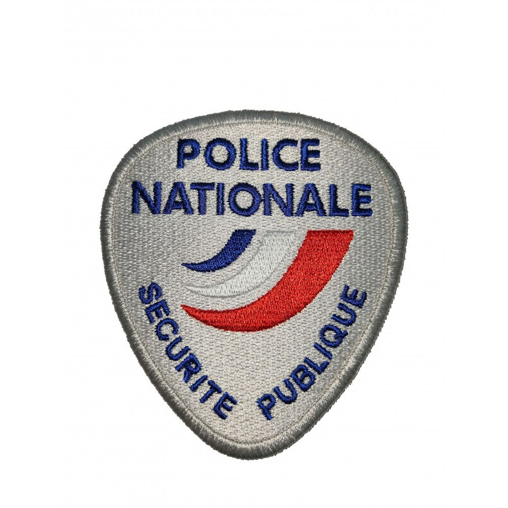 ECUSSON DE BRAS BRODE POLICE SECURITE PUBLIQUE