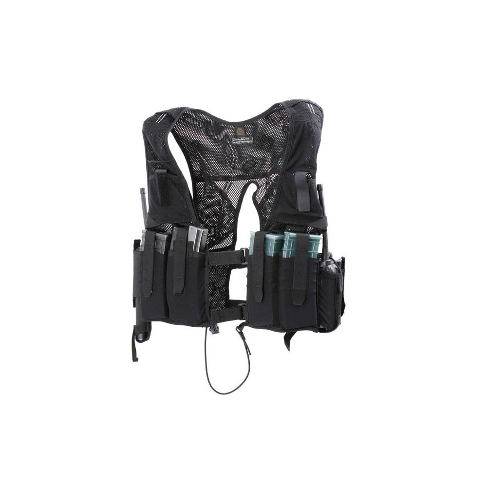 Gilet discret tactique Black Pearl/ Snigel Design