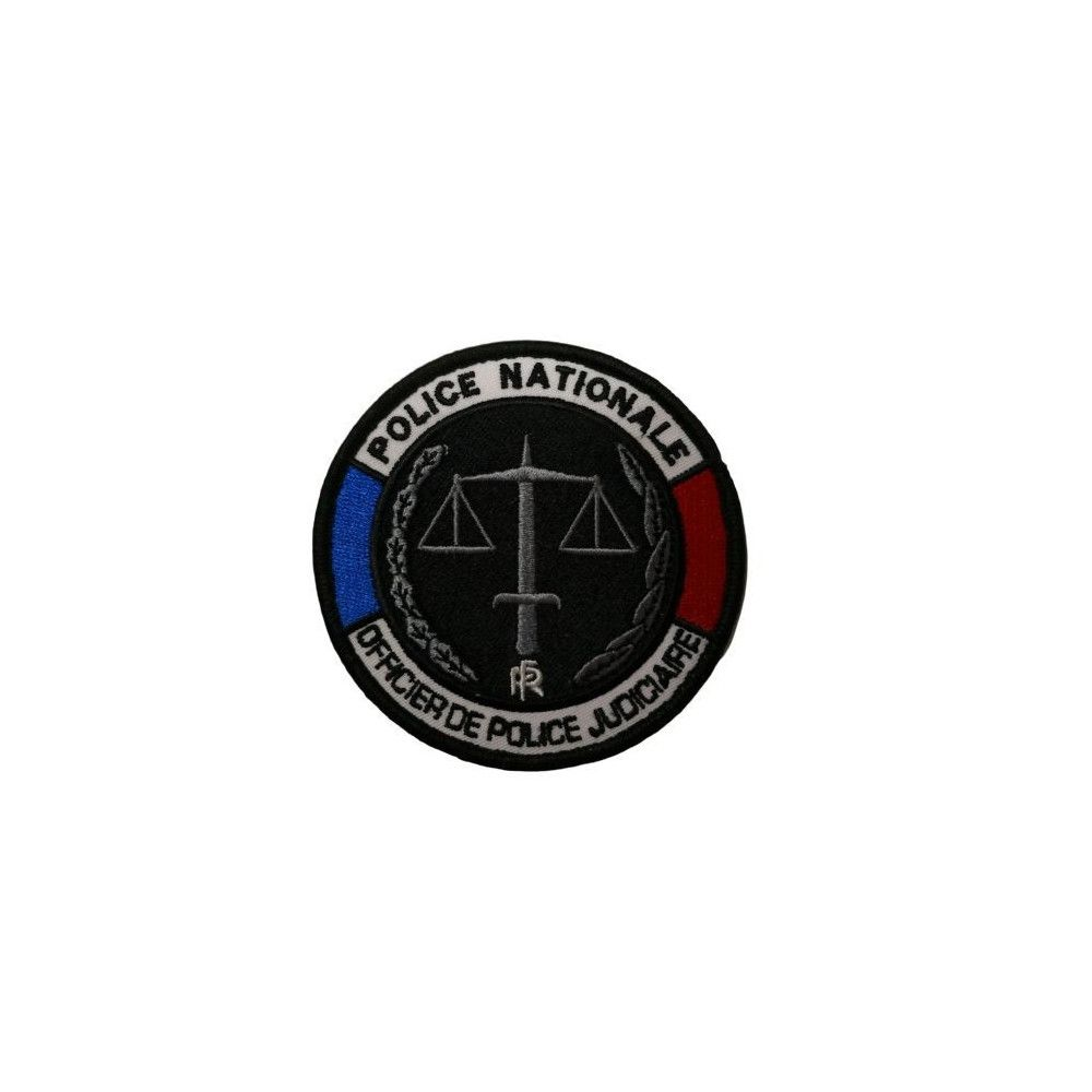 Ecusson de bras officier de police Judiciaire