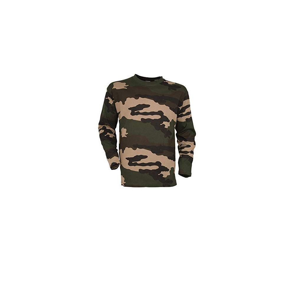 Tee-shirt manches longues camouflée