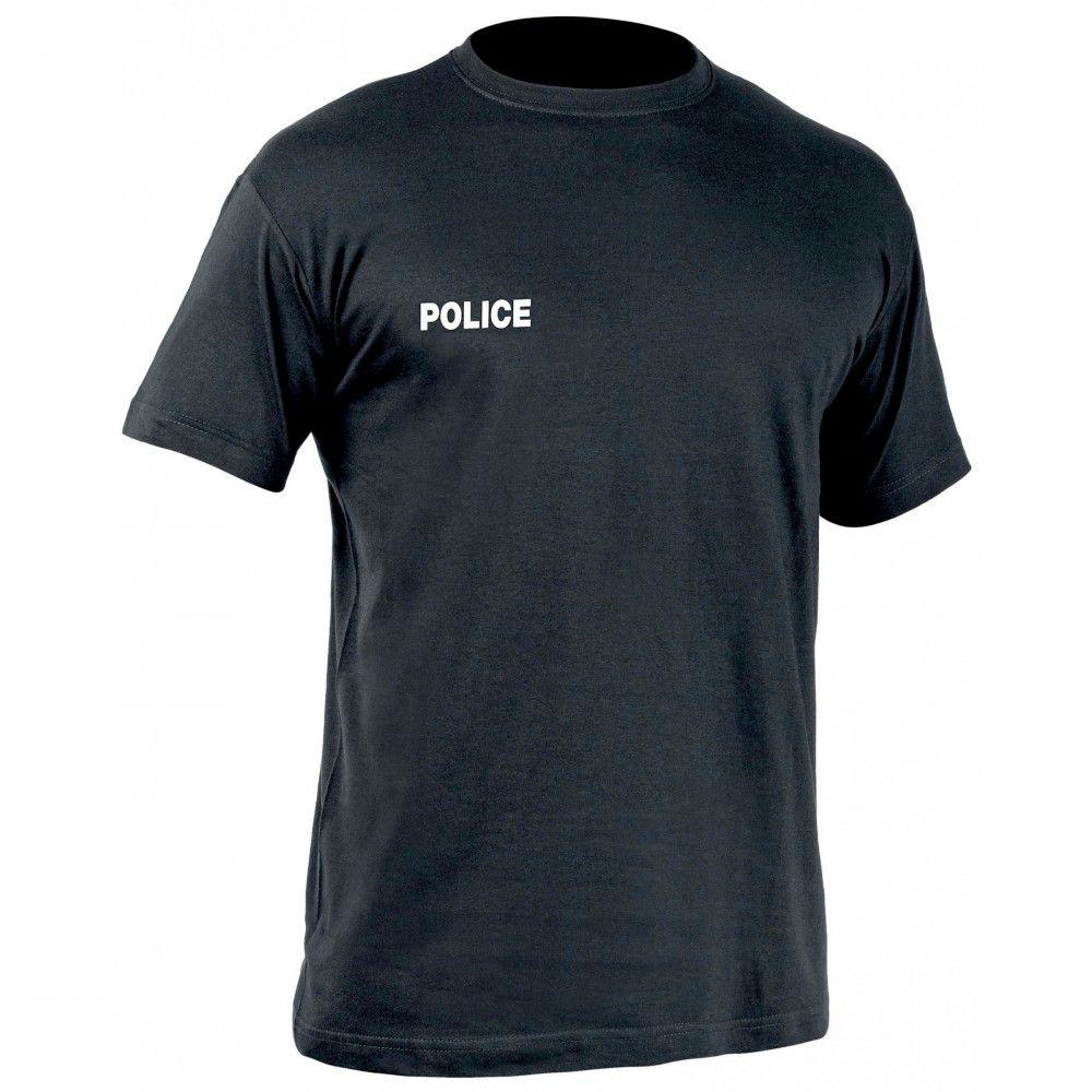 Tee-shirt noir Police