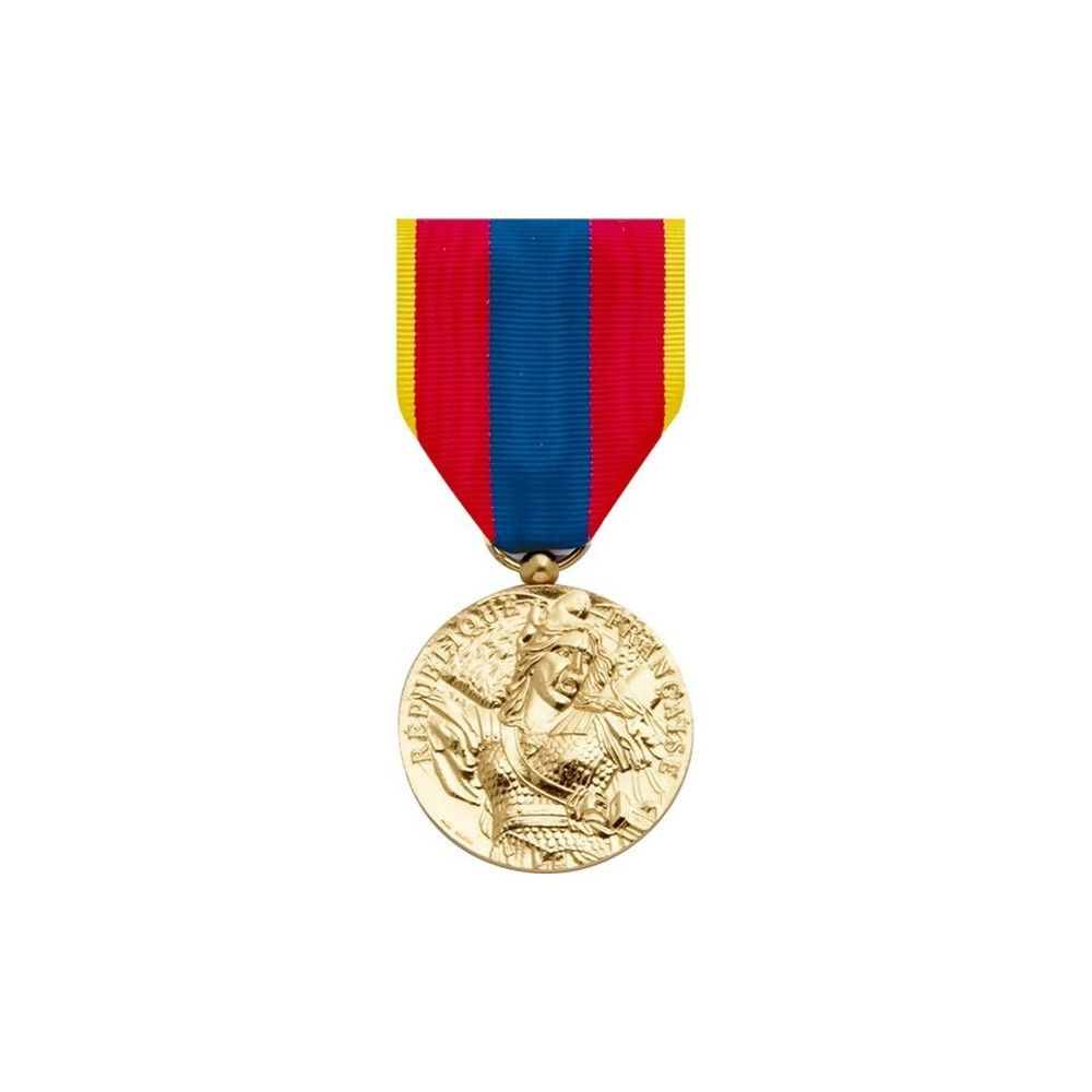Médaille pendante défense nationale or