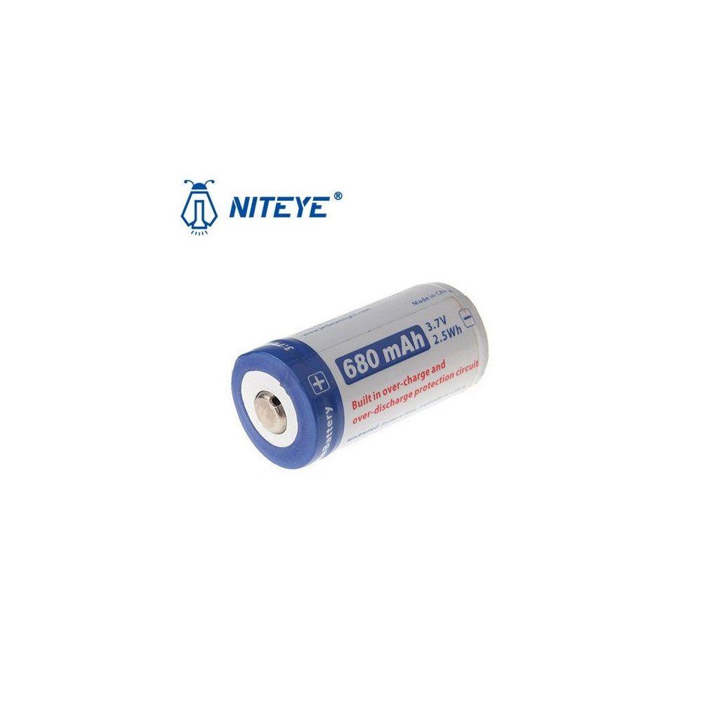 Batterie Niteye 16340 680 mAh (RCR123)