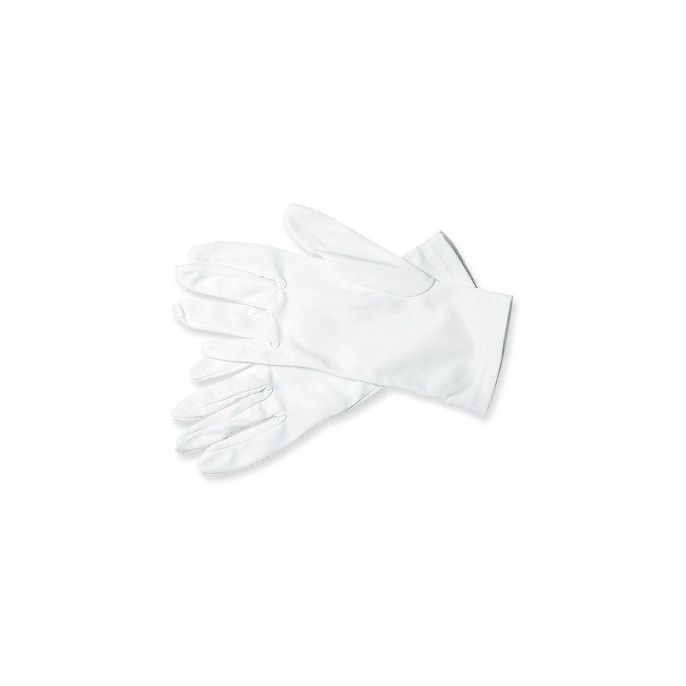 Gants de cérémonie nylon blanc