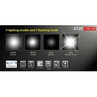 Lampe Klarus XT2C.2 900 lumens 2 piles CR123