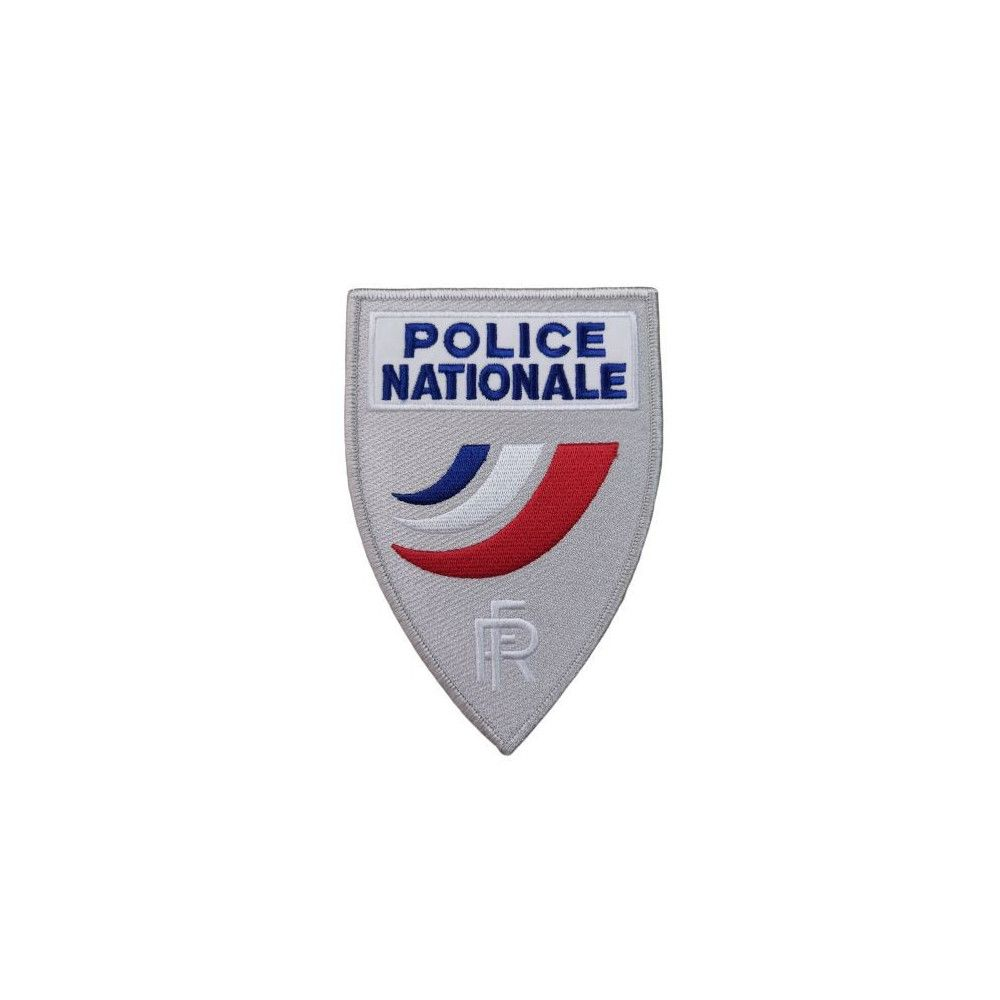 Ecusson de Poitrine Triangulaire Grand format Police Nationale