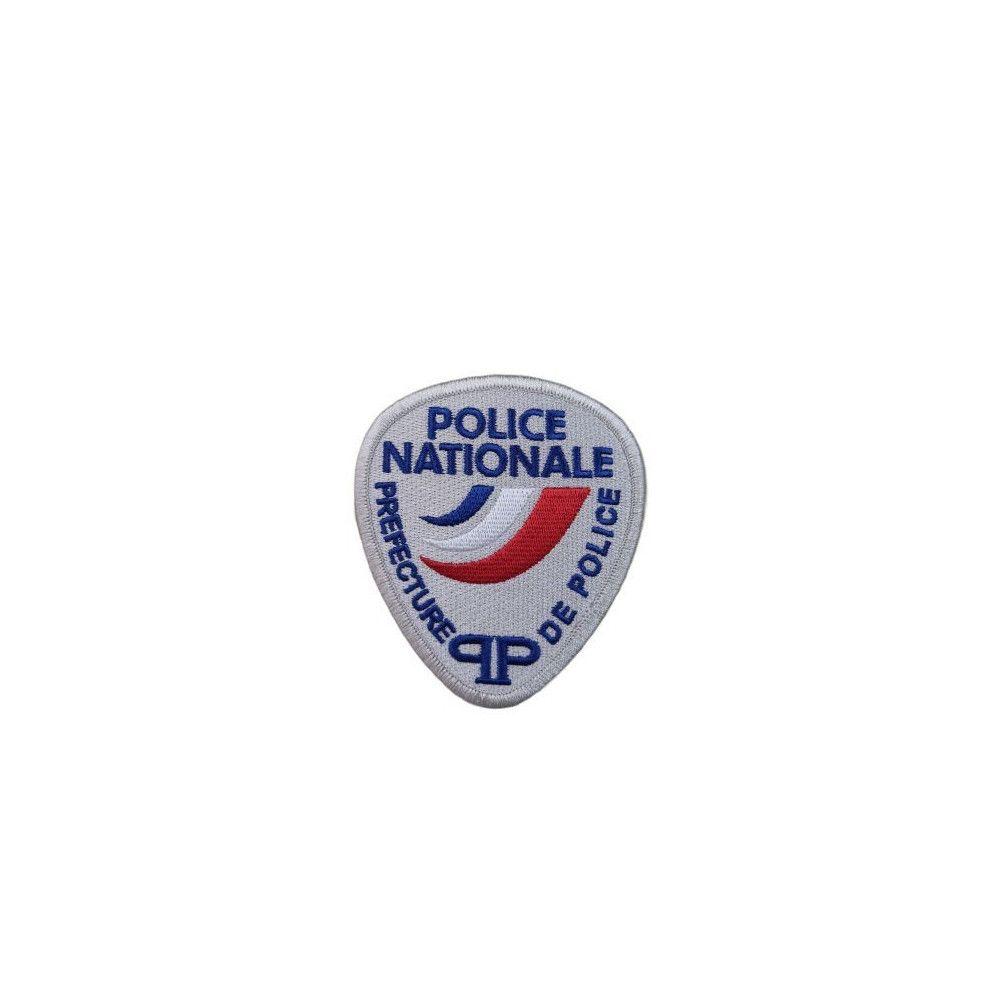 Ecusson de Bras Brodé Police Nationale Prefecture de Police
