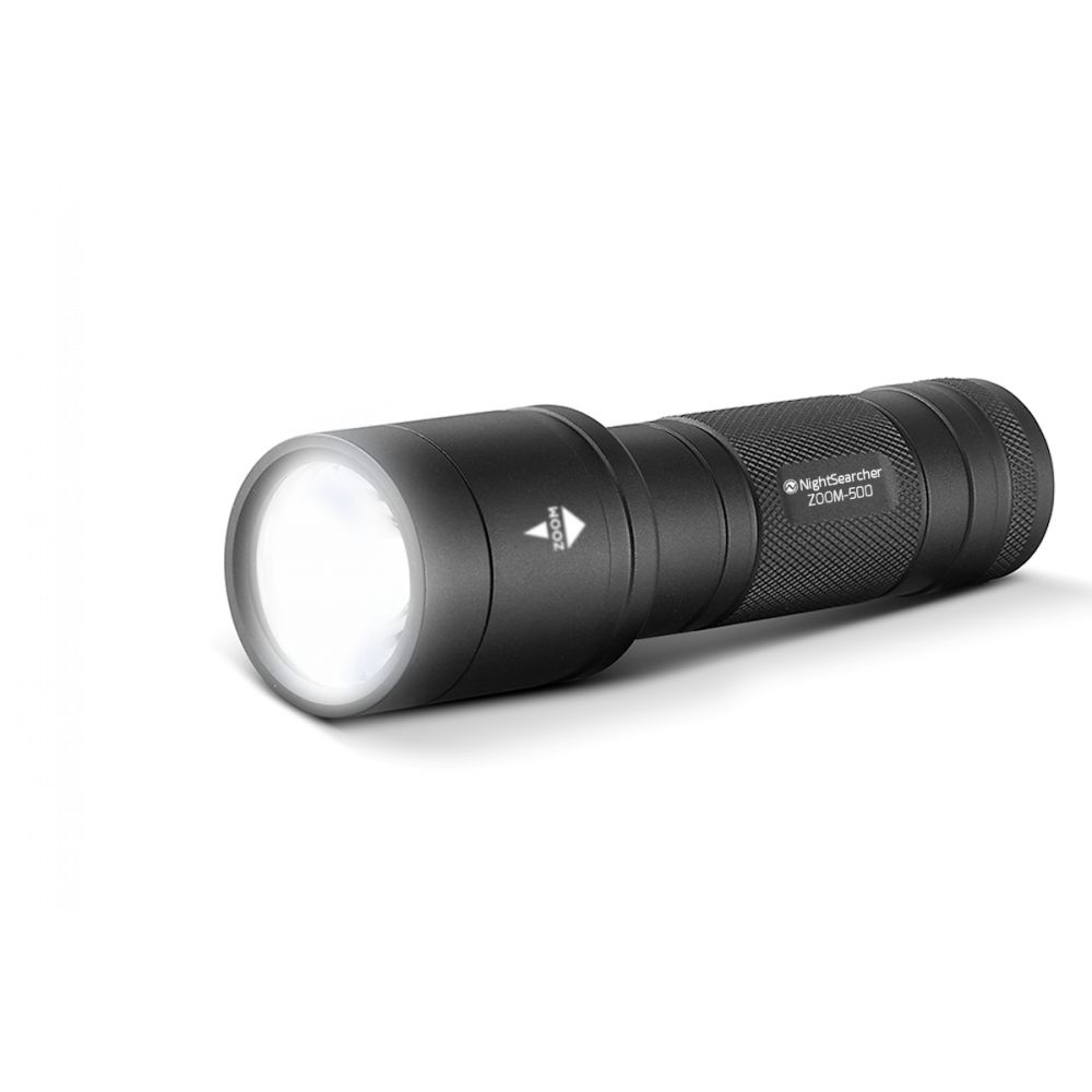 Lampe Tactique LED ZOOM 500 500Lm Portée 285m NightSearcher