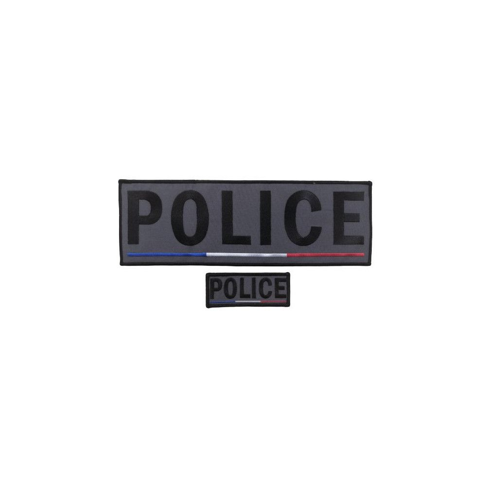 Jeu de bandes Police basse visibilité France