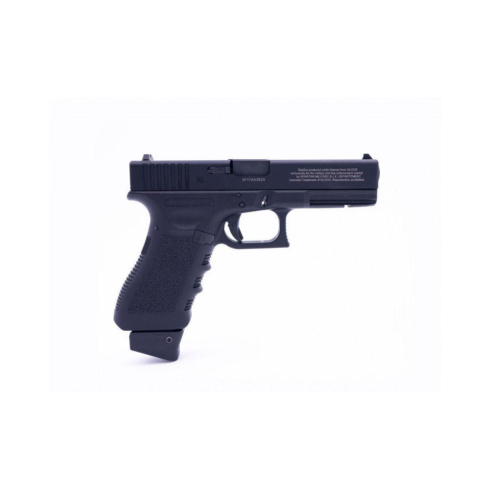 Glock 17 SMLE avec Canon orange + Chargeur 12gr + Chargeur gaz/C12
