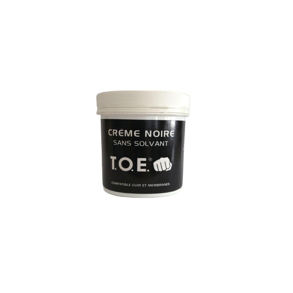 Cirage crème noire sans solvant spécial chaussures Goretex