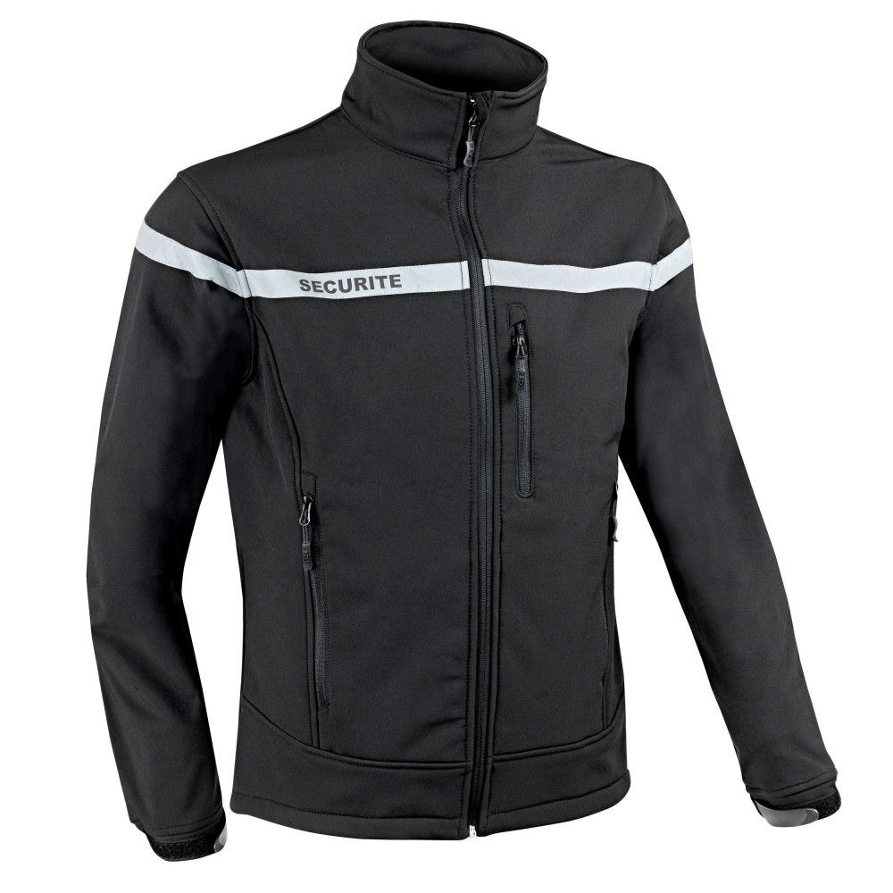 Veste Softshell sécurité Sécu-One Toe Concept