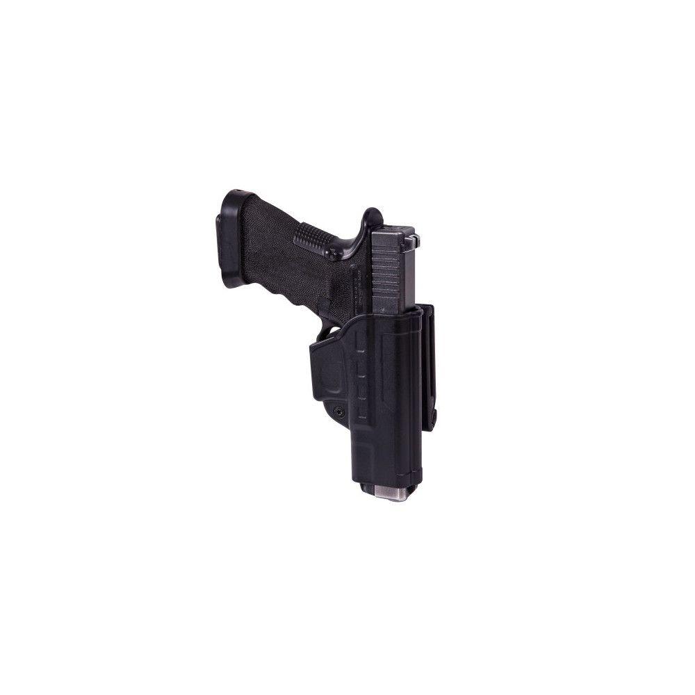 Etui à tirage rapide pour Glock 17 avec clip de ceinture