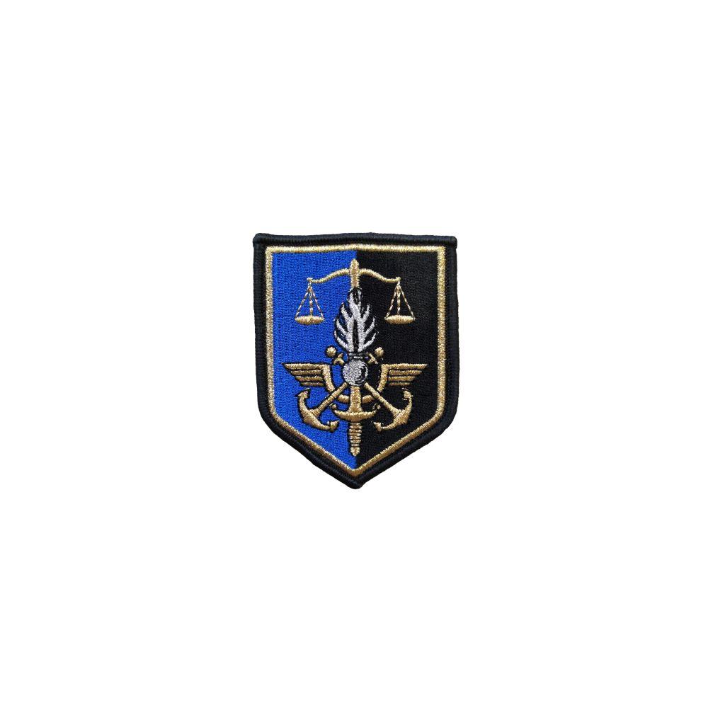 Ecusson de bras brodé Commandement Gendarmerie Prévotale