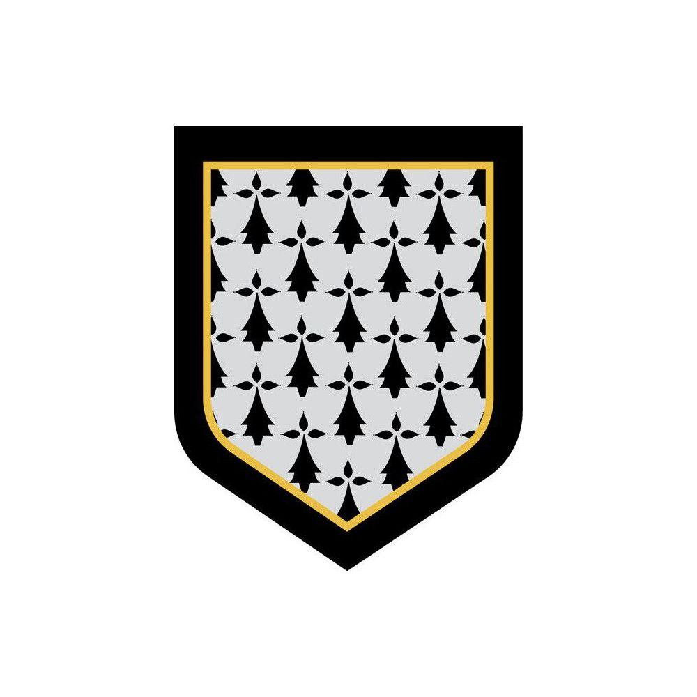 Ecusson de Bras Brode Gendarmerie Departementale Bretagne