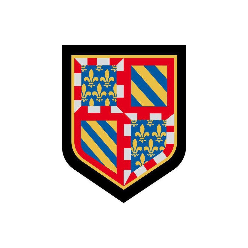 Ecusson de Bras Brode Gendarmerie Departementale Bourgogne