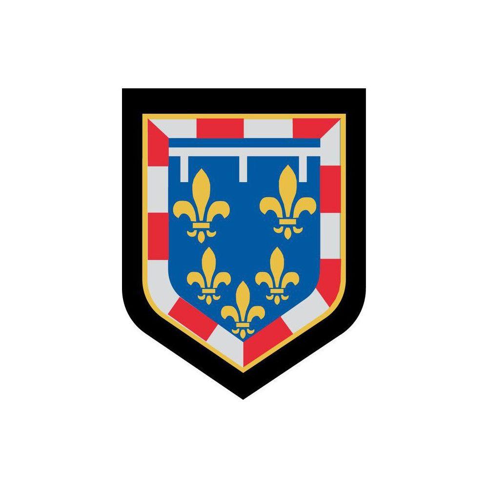 Ecusson de Bras Brode Gendarmerie Departementale Centre