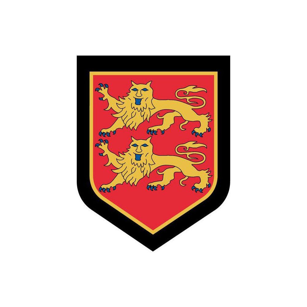 Ecusson de Bras Brode Gendarmerie Departementale Haute Normandie