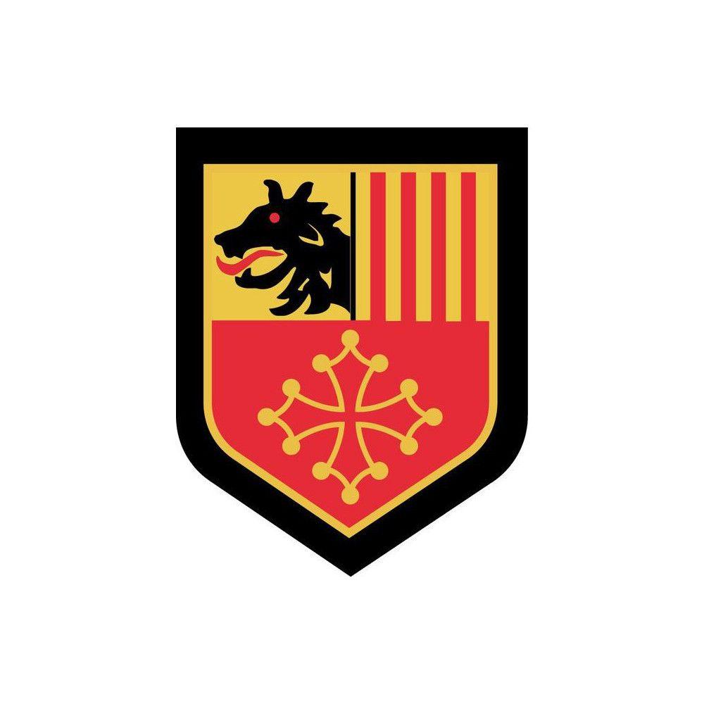 Ecusson de Bras Brode Gendarmerie Departementale Languedoc Roussillon