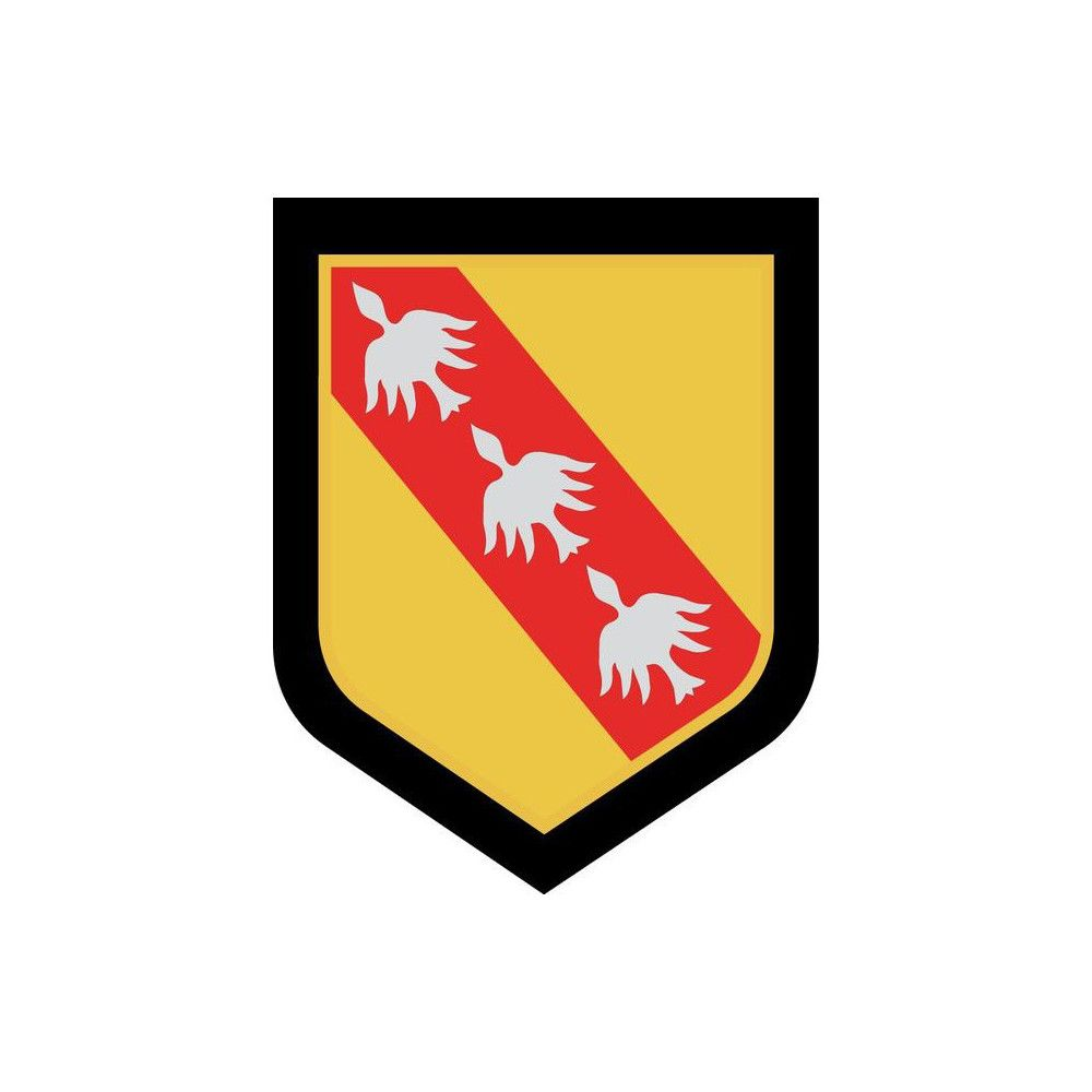 Ecusson de Bras Brode Gendarmerie Departementale Lorraine