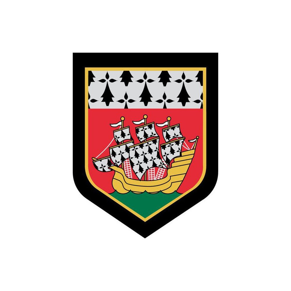 Ecusson de Bras Brode Gendarmerie Departementale Pays de Loire